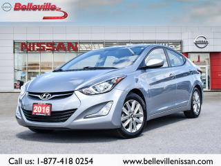 Used 2016 Hyundai Elantra Sport Appearance pckg! Low Km's! Clean Carfax for sale in Belleville, ON