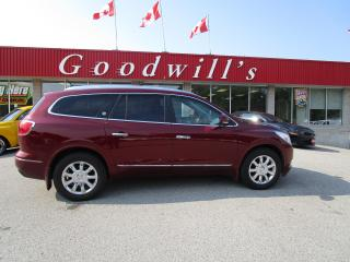 Used 2015 Buick Enclave LEATHER PKG! CLEAN CARFAX! FACTORY REMOTE START! for sale in Aylmer, ON