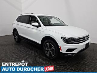 Used 2018 Volkswagen Tiguan HUGHLINE AWD - Toit panoramique - Navigation - for sale in Laval, QC