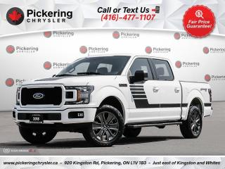 Used 2018 Ford F-150 XLT - SPORT PKG/302A/20'S/BUCKETS/HEATED SEATS/NAV for sale in Pickering, ON