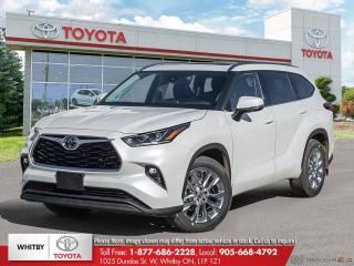 New 2021 Toyota Highlander LIMITED  for sale in Whitby, ON