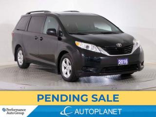 Used 2016 Toyota Sienna LE, 8-Seater, Back Up Cam, Bluetooth, Heated Seats for sale in Brampton, ON