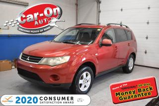 Used 2008 Mitsubishi Outlander ALLOY WHEELS   A/C   CRUISE for sale in Ottawa, ON