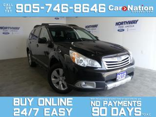 Used 2012 Subaru Outback TOURING | AWD | 6 SPEED MANUAL | SUNROOF for sale in Brantford, ON