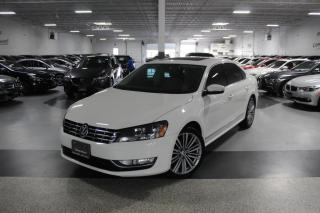 Used 2015 Volkswagen Passat TDI COMFORTLINE I LEATHER I SUNROOF I REAR CAM I HEATED SEAT for sale in Mississauga, ON