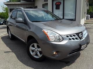 Used 2013 Nissan Rogue S AWD - SUNROOF! BLUETOOTH! ALLOYS! for sale in Kitchener, ON