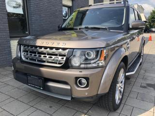 Used 2015 Land Rover LR4 4WD 7 SEATER for sale in Nobleton, ON