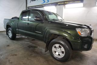 Used 2012 Toyota Tacoma 4x4 PREMUIM PKG CERTIFIED 2YR WARRANTY *1 OWNER*2nd WINTER* BLUETOOTH CRUISE TOW HITCH for sale in Milton, ON