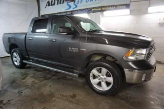 Used 2016 RAM 1500 V8 SLT HEMI CAMERA SUPER CREW CERTIFIED 2YR WARRANTY *1 OWNER*FREE ACCIDENT* HEATED POWER SEATS for sale in Milton, ON