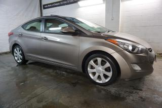 Used 2011 Hyundai Elantra LIMITED NAVI CAMERA CERTIFIED 2YR WARRANTY *1 OWNER*FREE ACCIDENT* SUNROOF BLUETOOTH HEATED LEATHER for sale in Milton, ON