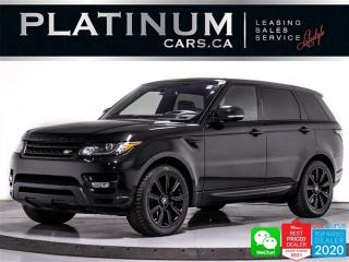 Used 2016 Land Rover Range Rover Sport Supercharged Dynamic,518HP,BLACK PKG,HUD,PANO,NAV, for sale in Toronto, ON