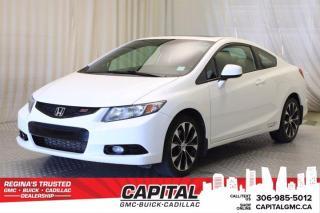 Used 2013 Honda Civic Cpe Si for sale in Regina, SK