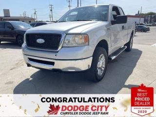 Used 2008 Ford F-150 -4WD, V8, Accident Free, Extended Cab for sale in Saskatoon, SK