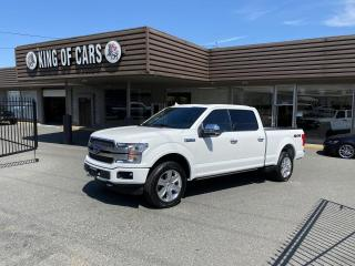 Used 2020 Ford F-150 PLATINUM for sale in Langley, BC