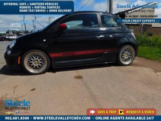 Used 2012 Fiat 500 Abarth-ALLOYS-SPOILER-MANUAL-FUN TO DRIVE!!! for sale in Kentville, NS