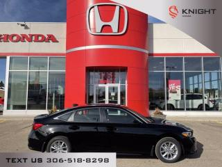 New 2022 Honda Civic Sedan EX for sale in Moose Jaw, SK
