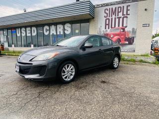 Used 2013 Mazda MAZDA3 for sale in Barrie, ON