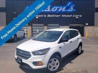 Used 2019 Ford Escape S, Rear Camera, Bluetooth, Keyless Entry, Cruise Control and more! for sale in Guelph, ON