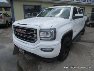 Used 2017 GMC Sierra 1500 GREAT KM'S SLE-ELEVATION-EDITION 6 PASSENGER 5.3L - VORTEC.. 4X4.. CREW-CAB.. SHORTY.. BACK-UP CAMERA.. BLUETOOTH SYSTEM.. HEATED SEATS.. for sale in Bradford, ON