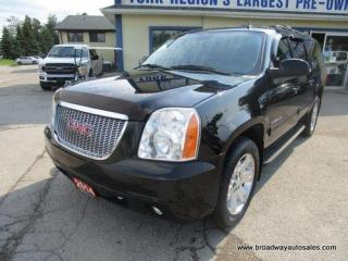 Used 2014 GMC Yukon XL LOADED SLT-MODEL 7 PASSENGER 5.3L - V8.. 4X4.. CAPTAINS.. THIRD ROW.. LEATHER.. HEATED/AC SEATS.. POWER SUNROOF.. BACK-UP CAMERA.. POWER PEDALS.. for sale in Bradford, ON