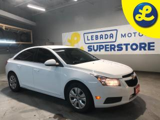 Used 2014 Chevrolet Cruze 1.8L 6 Speed Automatic * Steering Wheel Controls * Hands Free Calling * Remote Start * Automatic Headlights * Keyless Entry * On Star * 12V DC Outlet for sale in Cambridge, ON