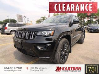 New 2021 Jeep Grand Cherokee Altitude | 0% Available | Backup Camera | for sale in Winnipeg, MB