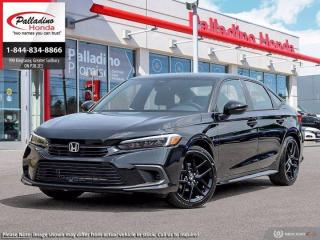 New 2022 Honda Civic Sedan Sport for sale in Sudbury, ON