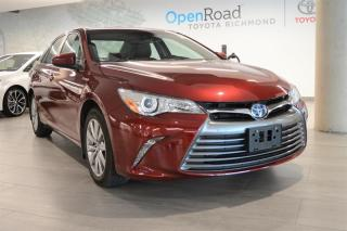 Used 2016 Toyota Camry HYBRID XLE CVT for sale in Richmond, BC