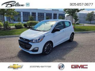 New 2021 Chevrolet Spark 1LT CVT -  Apple CarPlay - $150 B/W for sale in Bolton, ON