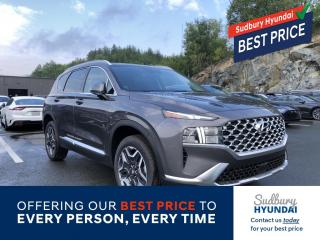 New 2021 Hyundai Santa Fe HEV Preferred w/Trend Package for sale in Sudbury, ON