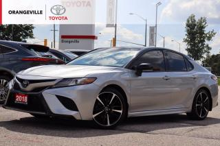 Used 2018 Toyota Camry XSE, PANORAMIC SUNROOF, HEATED SEATS, SMART DEVICE INTEGRATION, BRAKE / LANE KEEP ASSIST for sale in Orangeville, ON