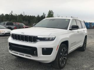 New 2021 Jeep Grand Cherokee L Overland for sale in Yellowknife, NT