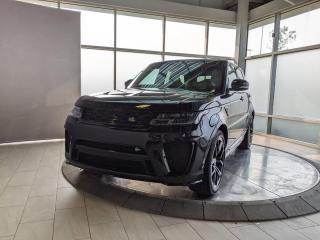 New 2021 Land Rover Range Rover Sport SVR for sale in Edmonton, AB