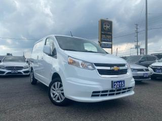 Used 2015 Chevrolet City Express No Accidents   FWD   Cargo van   Certified for sale in Brampton, ON