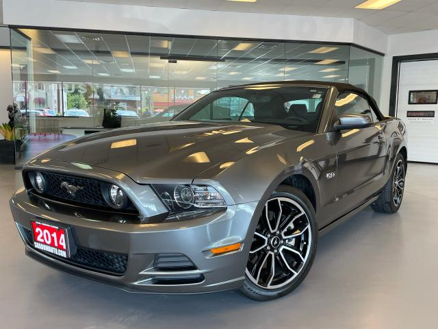 2014 Ford Mustang GT CONVERTIBLE - HEATED LEATHER SEATS/
