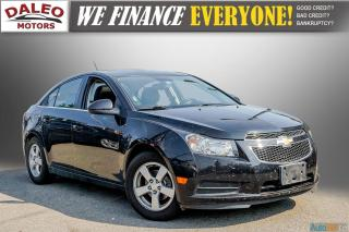 Used 2014 Chevrolet Cruze 2LT / LEATHER / BACKUP CAM / POWER MOONROOF / for sale in Hamilton, ON