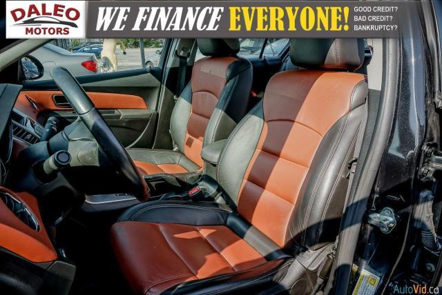 2014 Chevrolet Cruze 2LT / LEATHER / BACKUP CAM / POWER MOONROOF / Photo10