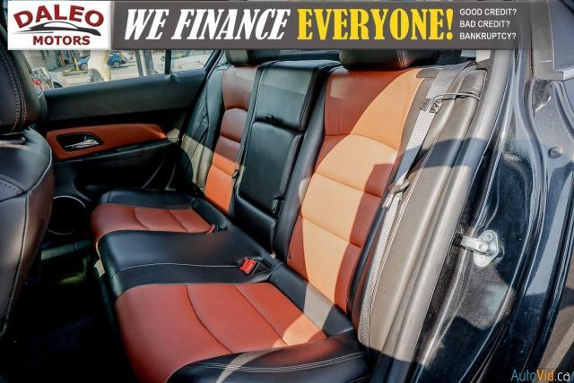 2014 Chevrolet Cruze 2LT / LEATHER / BACKUP CAM / POWER MOONROOF / Photo11