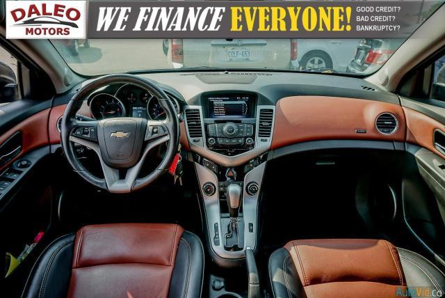 2014 Chevrolet Cruze 2LT / LEATHER / BACKUP CAM / POWER MOONROOF / Photo13