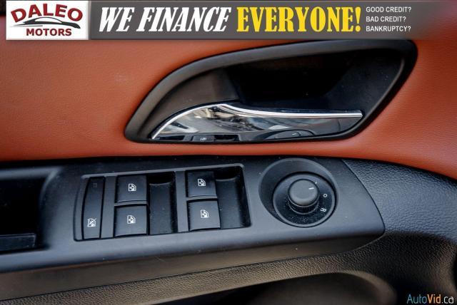 2014 Chevrolet Cruze 2LT / LEATHER / BACKUP CAM / POWER MOONROOF / Photo14
