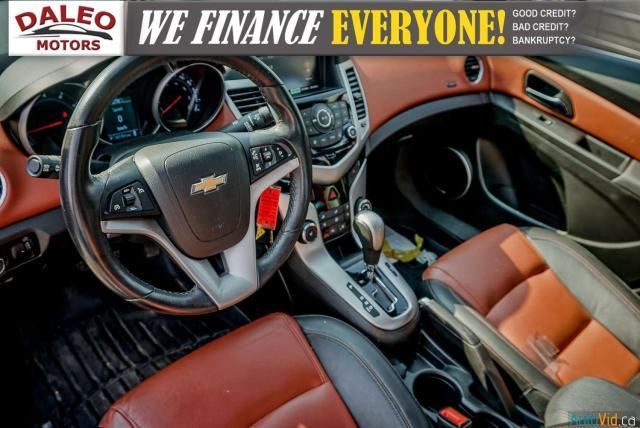 2014 Chevrolet Cruze 2LT / LEATHER / BACKUP CAM / POWER MOONROOF / Photo17