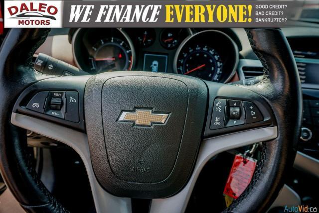 2014 Chevrolet Cruze 2LT / LEATHER / BACKUP CAM / POWER MOONROOF / Photo23