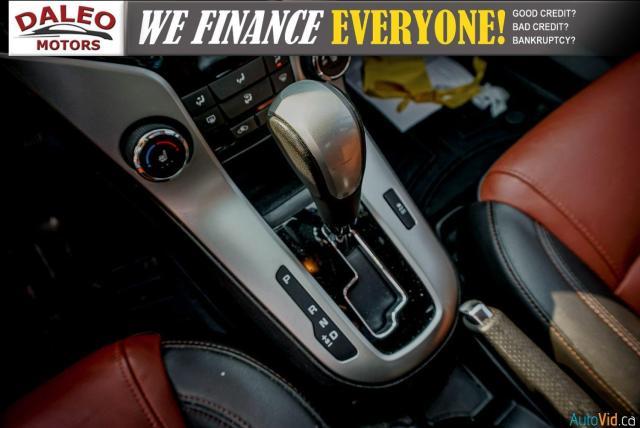 2014 Chevrolet Cruze 2LT / LEATHER / BACKUP CAM / POWER MOONROOF / Photo24
