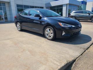 Used 2020 Hyundai Elantra PREF SUN/SAFETYPACK/HEATEDSEATS/STEERING/BACK UP CAM for sale in Edmonton, AB
