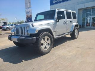 Used 2011 Jeep Wrangler Unlimited UNLIMITED SAHARA/NAV/POWEROPTIONS/HEATEDSEATS/AUTO for sale in Edmonton, AB