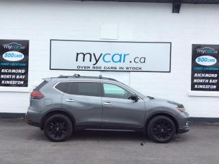 Used 2018 Nissan Rogue Midnight Edition NAV, PANOROOOF, HEATED SEATS/WHEEL, BEAUTY TRUCK!! for sale in Kingston, ON