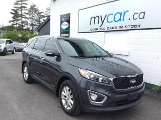 Used 2018 Kia Sorento 3.3L LX 7 PASS, V6, HEATED SEATS, ALLOYS, BACKUP CAM!! for sale in North Bay, ON