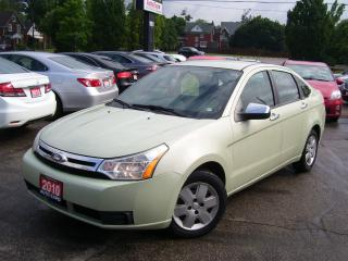 Used 2010 Ford Focus SE,AUTO,A/C,POWER GROUP,KEY LESS, CERTIFIED for sale in Kitchener, ON