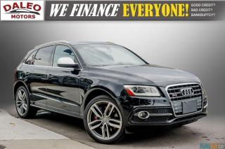 Used 2015 Audi SQ5 3.0T Technik / BackUp Cam / Leather / Panorama for sale in Hamilton, ON