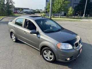 Used 2009 Pontiac G3 Automatic, Only 141000 KM, Sunroof, Gas saver, 3/Y for sale in Toronto, ON
